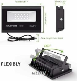 LED Flood Light Outdoor Lamp RGB Garden 20 Colors 20W Changing Remote Control