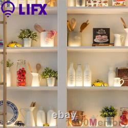 LIFX Lightstrip Colour Zones 2m Z LED Starter Kit Polychrome 100-240V 1400 Lumen