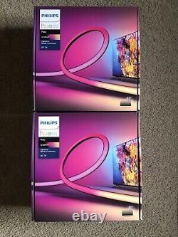 (LOT OF 2) Philips Hue Play Gradient Lightstrip 55 TV Brand New