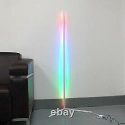 Modern Corner LED Floor Lamp Color Changing & Dimmable White minimalistic