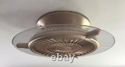 Modern LED Ceiling Fan Light Timer 40W Dimmable Bedroom Remote Control + APP