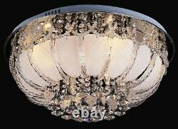 Modern RGB Colour changing LED Ceiling Chandelier Lights MP3 Remote Music 5029