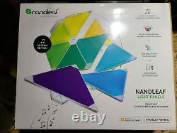 NANOLEAF 9 Light Panels, RHYTHM EDITION, NEW Factory Sealed