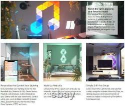 NANOLEAF Rhythm Edition Smarter Light Panel Starter Kit with 9 Panels