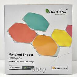 NEW Nanoleaf Shapes Hexagon Smarter Kit 7 LED Light Panels NL42-7003HX-7PK
