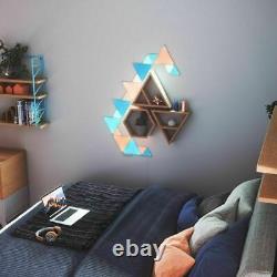 NEW Nanoleaf Shapes Mini Triangles Multicolor Light Panel Expansion Kit 10Pack