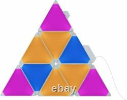 Nanoleaf Aurora Rhythm 9 Modular Multicolor Light Panel Smarter Kit
