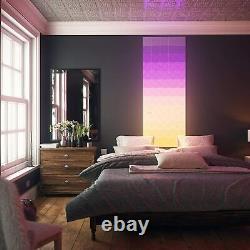 Nanoleaf Canvas Multicolor Light Panel Smarter Kit 9 Light Squares