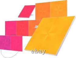 Nanoleaf Canvas Smarter Starter Kit with 9 Light Panel Squares NL29-0003SW-9PK