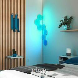 Nanoleaf Hexagon Color Changing Light Panels Smarter Kit 7 Panels