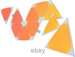 Nanoleaf Shapes Mini Tirangles Expansion pack (10pk) Multicolor