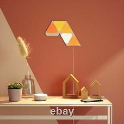 Nanoleaf Shapes Mini Triangles Smarter Kit Multicolor Light Panels 5 Pack