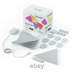 Nanoleaf Shapes Triangles Smarter Kit Multicolor Light Panels 7 Pack