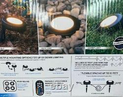 New Enbrighten Seasons LED Landscape Lights 50ft Selectable White/Color Changing