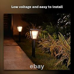 Philips Hue Econic White & Color Ambiance Outdoor Smart Pathway Light Base kit
