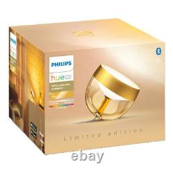 Philips Hue Iris Table Lamp (Gold Limited Edition) White and Colour Ambiance