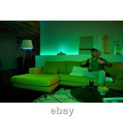 Phillips Hue Brand New 471960 White and Color Ambiance 60W Smart LED 4 bulb pack