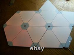 PreOwned Nanoleaf Aurora 18 Modular Multicolor Light Panel Smarter Panels