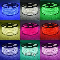RGB Colour Changing LED Strip 220V 240V IP68 Waterproof Commercial Rope Lights