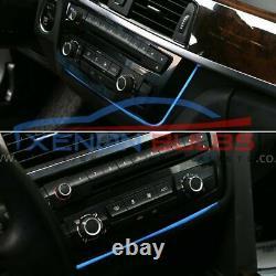 Radio Trim led dashboard center console AC panel light for BMW F30 F80 F82 F31
