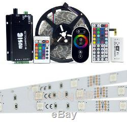 Rgb 5050 Led Strip Lights Colour Changing Tape Under Cabinet Kitchen Lighting Uk