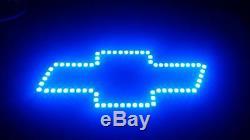Rgb Led Color Changing Chevy Bow Tie Halo Silverado Tahoe Suburban 24 Key Ir