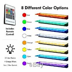 Sheer Elegance Half Off Ponds 24 Color Changing LED Lighted Spillway TGSE24CC