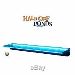 Sheer Elegance Half Off Ponds 36 Color Changing LED Lighted Spillway TGSE36CC