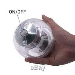 Solar 7 Color Changing LED Floating Ball Pond Pool RGB Lamp Outdoor Garden Light