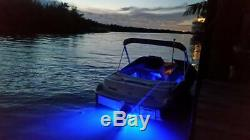 Ss Quasar Rgb Color Changing 8000 Total Lumens Underwater Boat Drain Plug Led