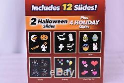 Star Shower Slide Show LED Projector 11671-6