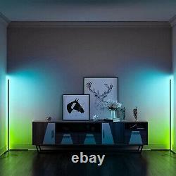 Sunset Lamp Corner Floor Lamps Home Bedroom RGB Night Light Dimming Standing Kit