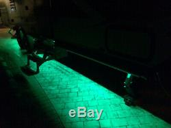 Under RV LED lights color changing. Free Shipping in USA