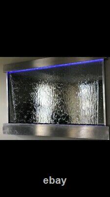 WALL HANGING WATERFALL 47 Wide X 24 Tall Color changing Lights, Remote Ctrl