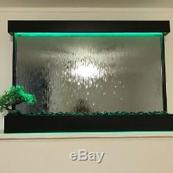 WALL HANGING WATERFALL 52 Wide x 35 Tall Color changing Lights, Remote Ctrl