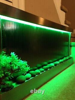 WALL HANGING WATERFALL 60 Wide X 26 Tall Color changing Lights, Remote Ctrl