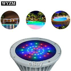 WYZM 12V 40W RGB Color Change LED Pool Light Bulb for Pentair Hayward Fixture