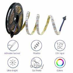 Wholesale WS2812B 5V 5050 RGB LED Strip 1-20M 60-1200 Led Individual Addressable